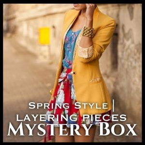Dresses & Skirts - SPRING STYLE | LAYERING PIECES MYSTERY BOX 5 ITEMS